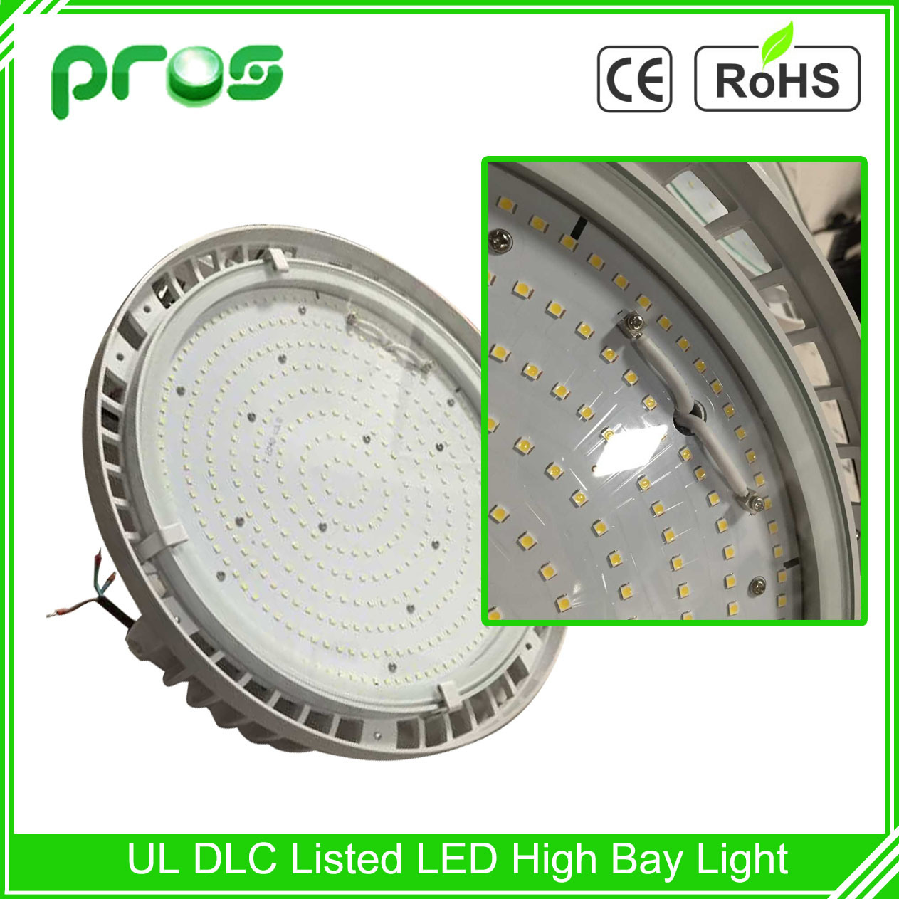 TUV LED High Bay Light 180W, Industrial Lighting with Meanwell Driver