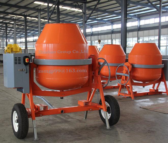 CMH650 (CMH50-CMH800) Portable Electric Gasoline Diesel Concrete Mixer