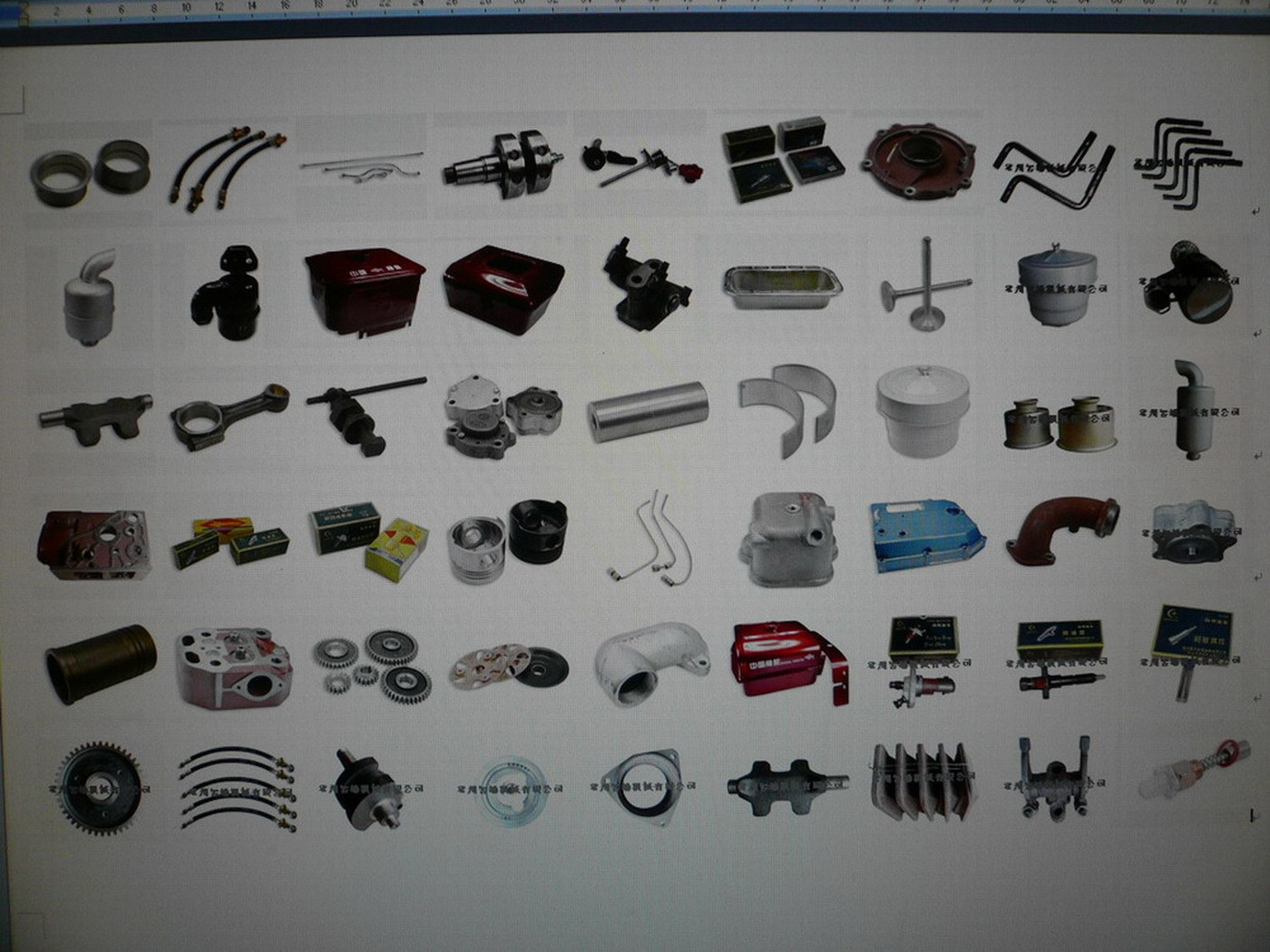 Spare Parts for Diesel Engines and Power Tiller