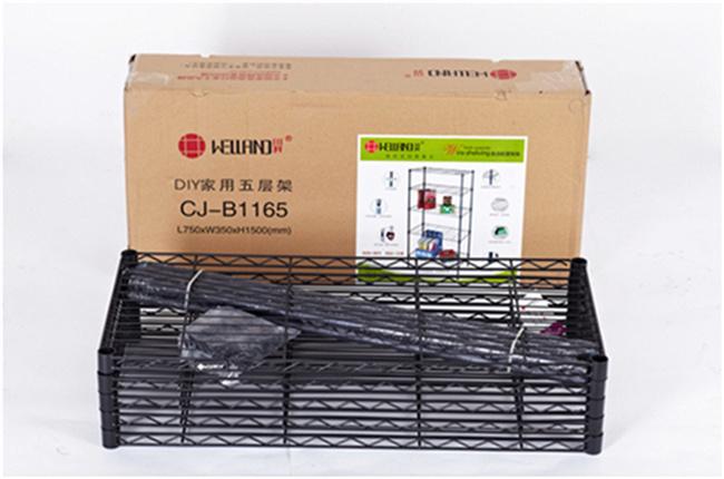 Easily Clean Adjustable Metal Wire Garage Sundries Storage Rack
