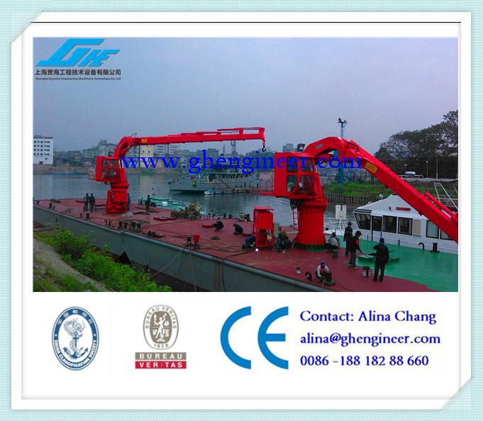 Marine Crane Pedestal Crane Knuckle Boom Crane