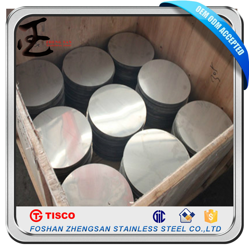 201 Grade Aod Stainless Steel Circle