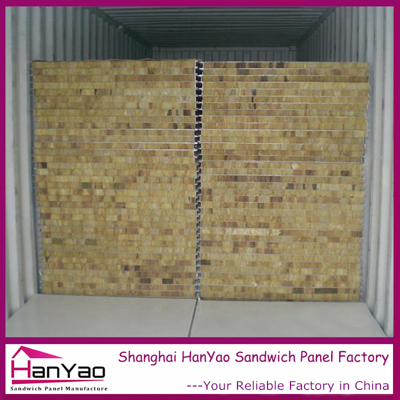 High Quality Color Steel Rock Wool Sandwich Panel