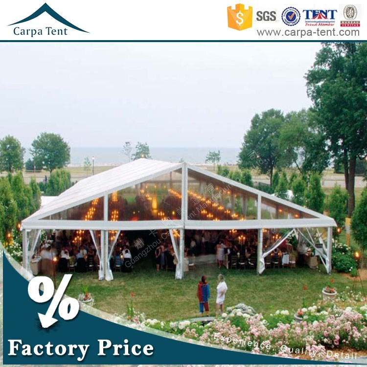 Fancy Arabic Tent Outdoor White Wedding Party Tent for 500 Seater