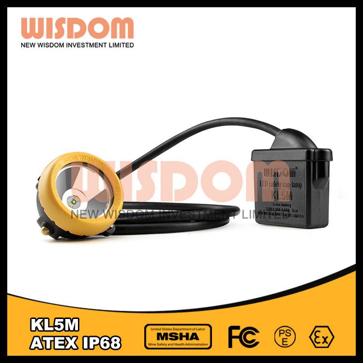 2016 Good Quality LED Mining Lamp, Headlamp Kl5m with Waterproof