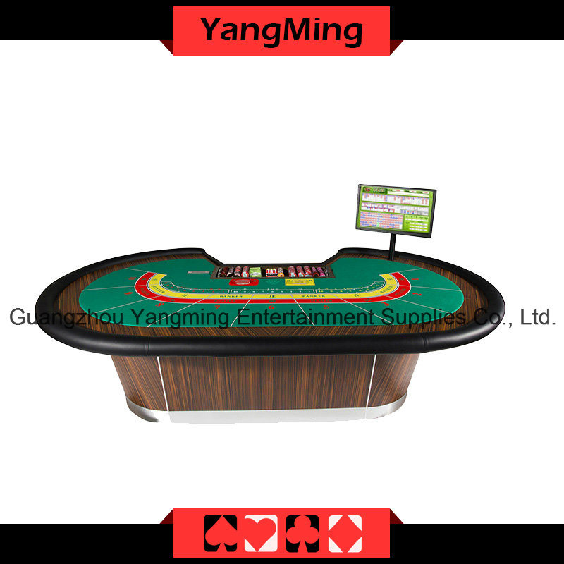 8 P Baccarat Casino Poker Table Can Be Custom (YM-BA07)