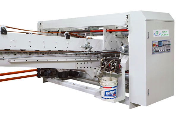 Automatic Flexo Printing Slotting Die-Cutting Folder Gluer Strapping Inline Machine