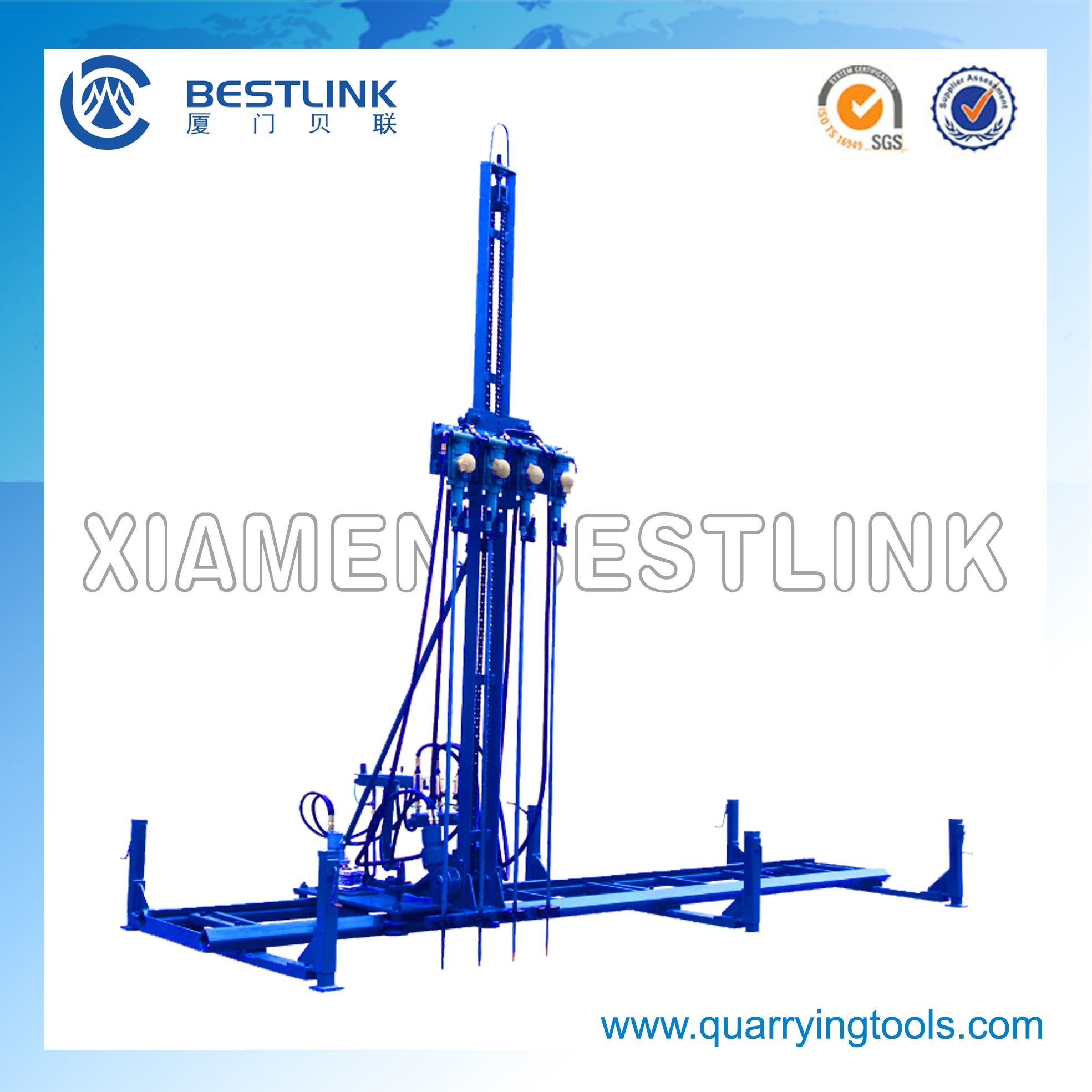 Heavy-Weight Pneumatic Line Drilling Machine