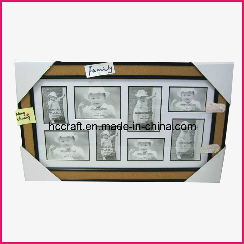 Plastic Mat Collage Photo Frame Corkboard for Home Deco.
