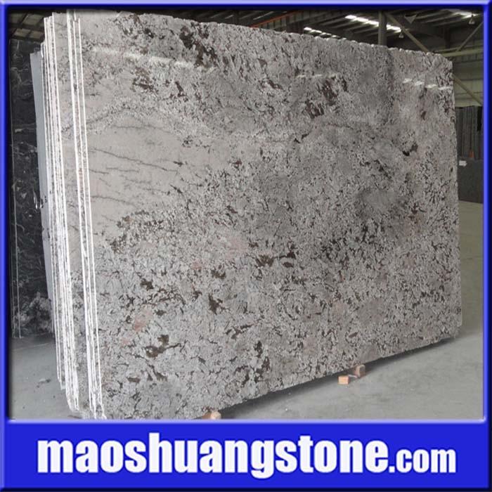 Losa blanca del granito de delicatus granito de giallo for Granito blanco delicatus