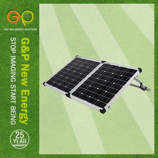 TUV, IEC, CE, ISO, Mono Foldable Solar Panels 100W Watt