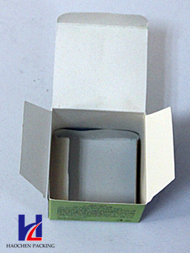 Cosmetics Color Printing Cardboard Packaging Packing Gift Box