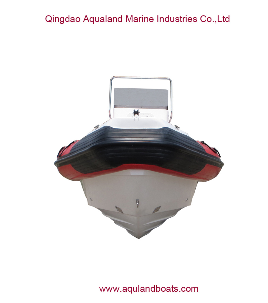 China Aqualand 35feet 10.5m Rigid Inflatable Military Patrol Boat/Rib Rescue Diving Boat (RIB1050)