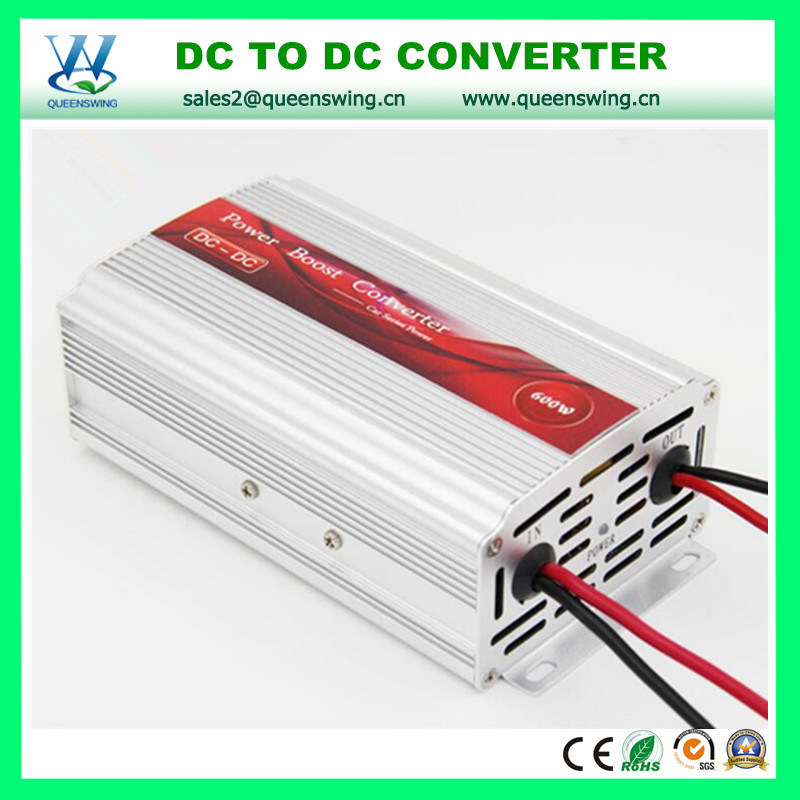 DC12V to DC24V 600W Power Boost Transformer (QW-DC600W1224)