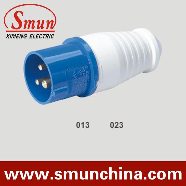 16A 3 Pin 220V Industrial Plug and Socket 2p+E IP44, Male Plug, Female Plug