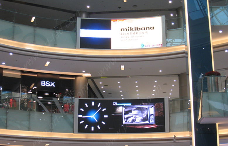 Full Color P6 Indoor LED Display Clock for Shopping Mall