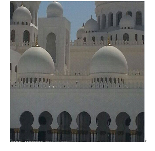 Portable Evaporative Desert Cooler for Sheikh Zayed Mosque