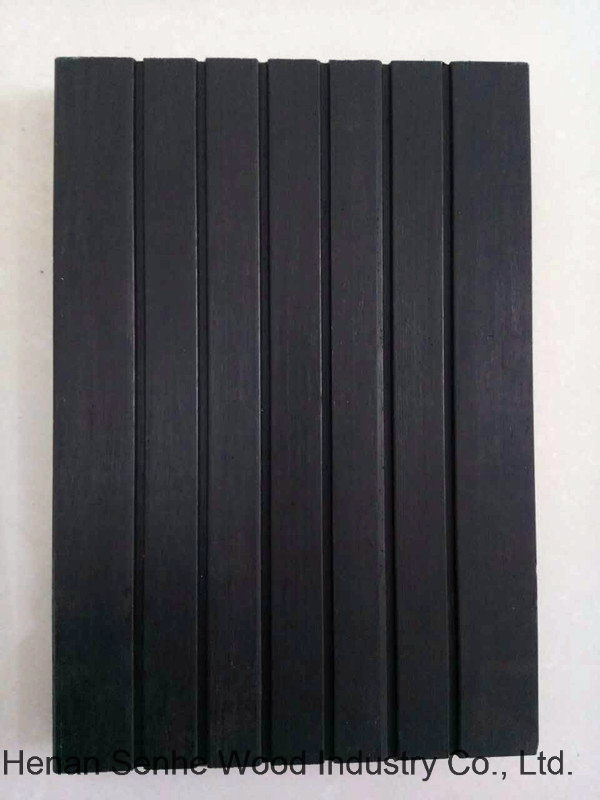 Strand Woven Bamboo Flooring, Outdoor Bamboo Flooring Deep Carbonized 18mm