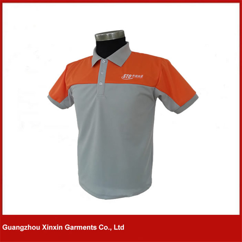 Custom Good Quality 100% Polyester Sports Golf T Shirts (P103)