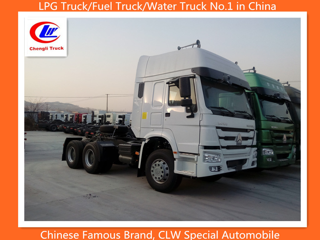Cnhtc Sinotruk HOWO 6X4 371HP Prime Mover Tractor Truck