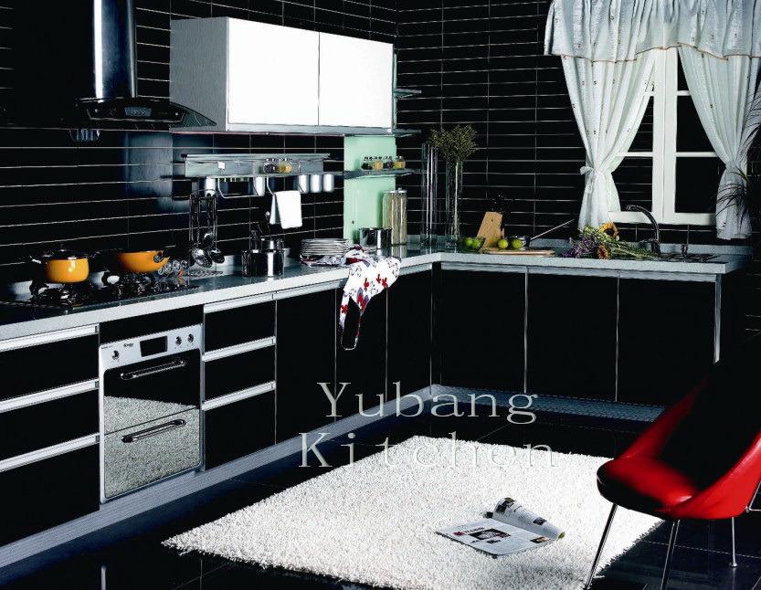 Baked Paint Kitchen Cabinet (M-L100)