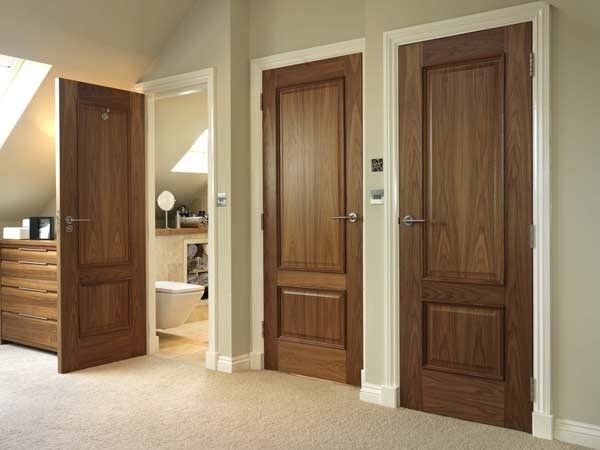 BS Certified Solid Wooden Fire Proof Door for Apartment (main safety door design)
