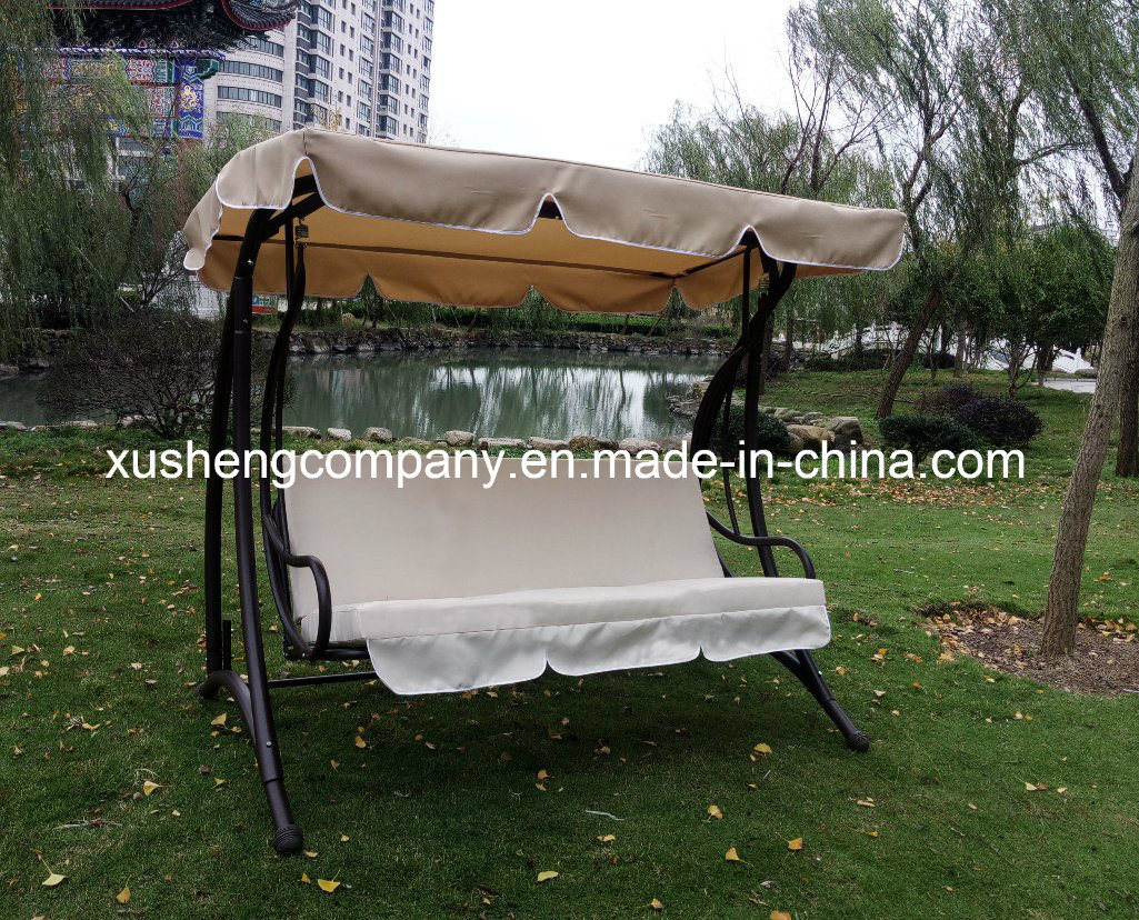 Deluxe Patio Swing Chair with Cushion