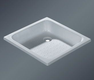 Hot Sale 70X70X15cm White Bathroom Base