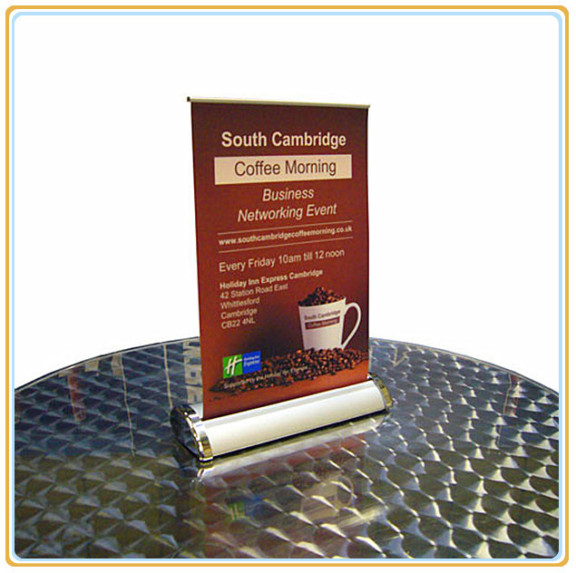 A3 Mini Table Roll up Banner Stand