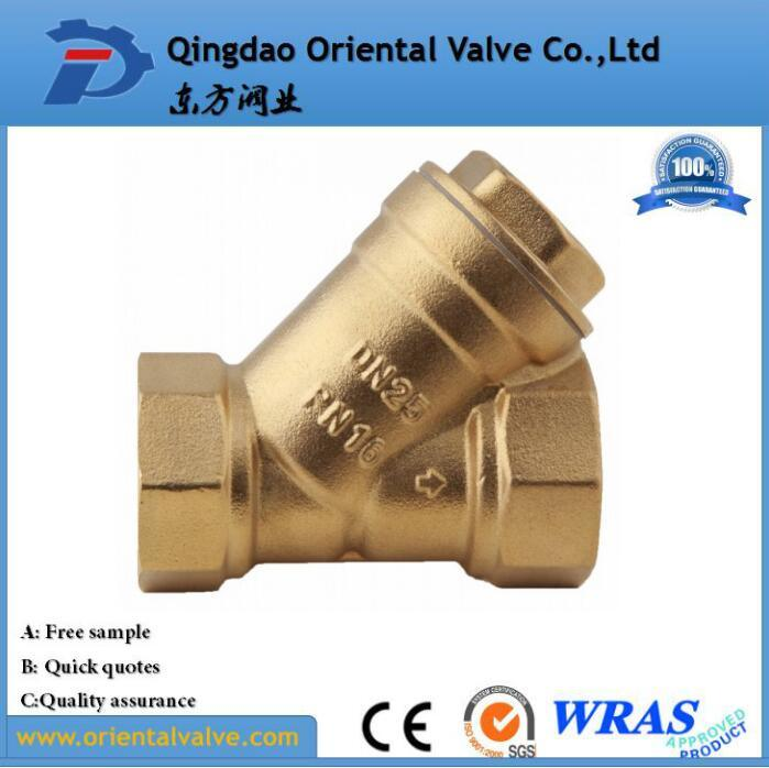 Made in China, Large Type, Flange, Pn10/Pn16, Brass Y Strainer, Water, Oil, Gas Strainer with Best Price