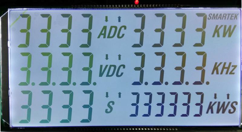 Custom Tn 7 Segment LCD Display