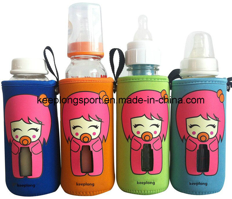 New Deisgn Custom Neoprene Baby′s Bottle Holder, Neoprene Baby′s Bottle Cooler Bag