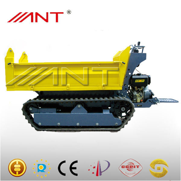 By1000m Electric Start 12HP Mini Tractor Mini Crawler Tractor