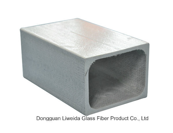 Corrosion Resistence FRP/Fiberglass Square Tube with High Performance