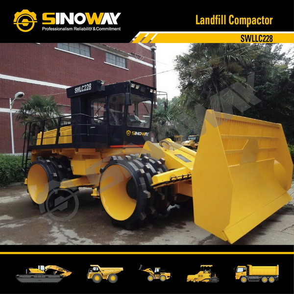 20- 33 Ton Operating Weight Landfill Compactor, Refuse Compactor