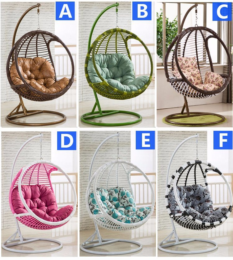 2017 New Hanging Chair &Swing Rattan Furniture, Rattan Basket (D005)