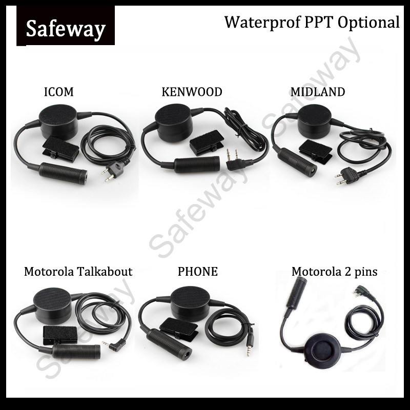 Two Way Radio Tactical Headset for Kenwood Walkie Talkie