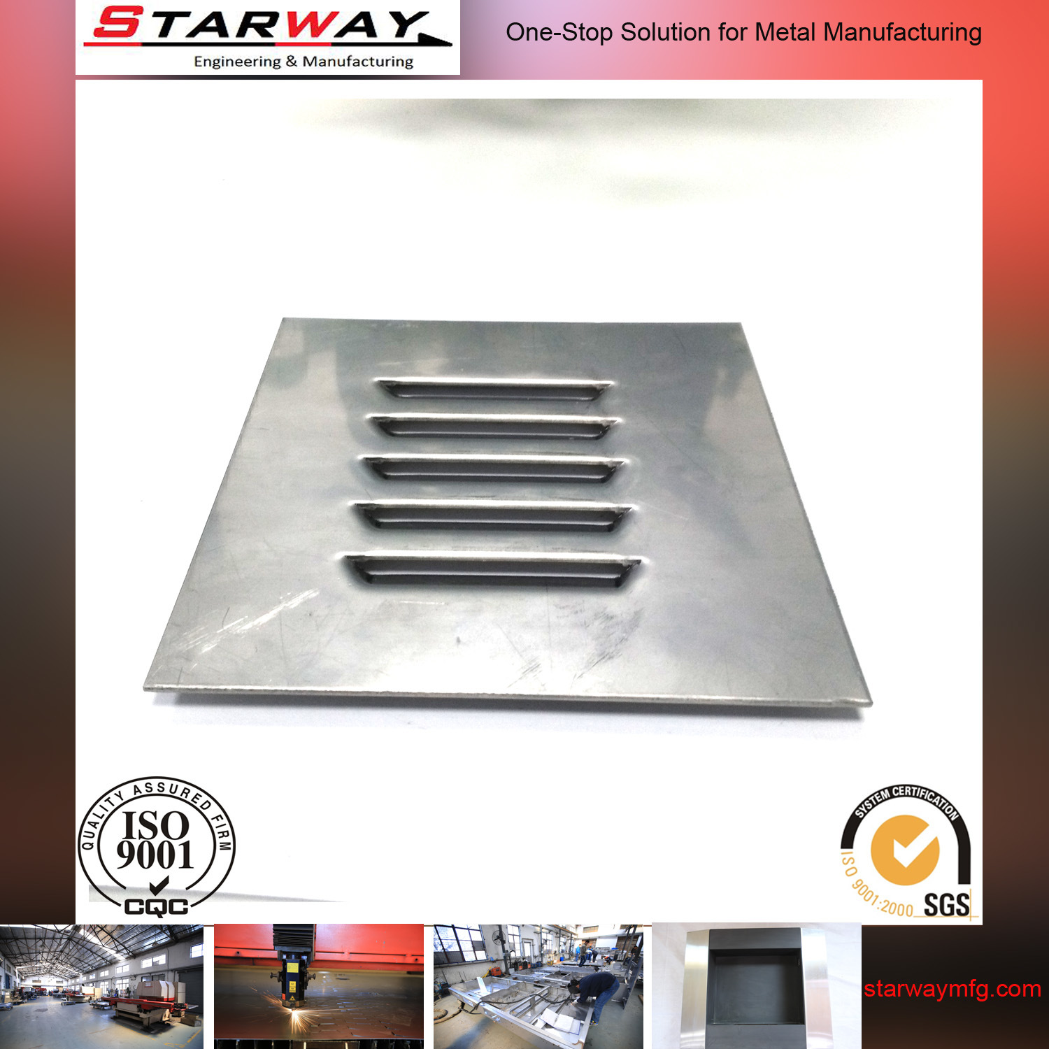 OEM Manufacture Precision Steel Farbication