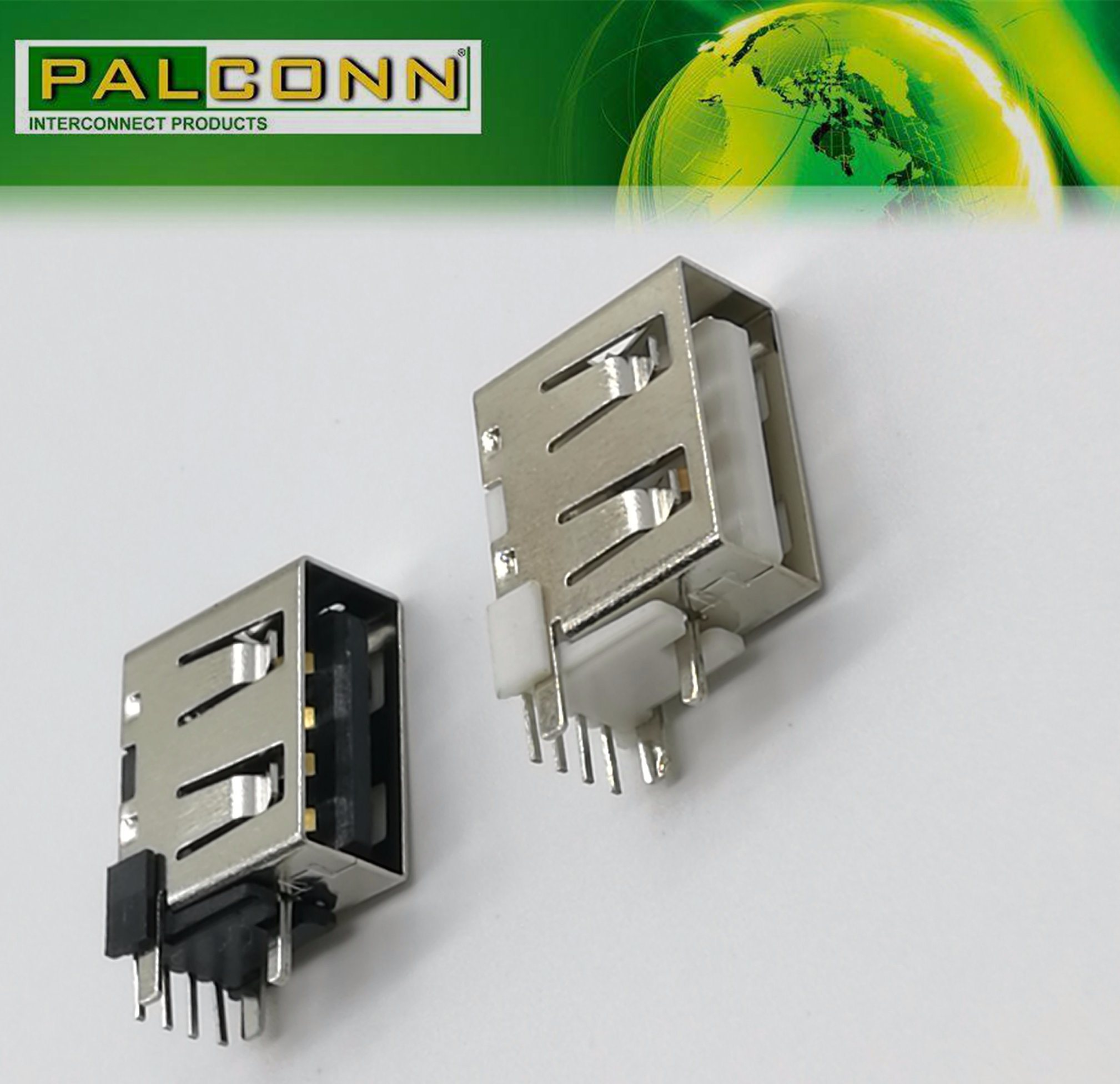 Rated Current~4A! USB2.0 Type a Female Connector for Power Adaptor, Power Bank