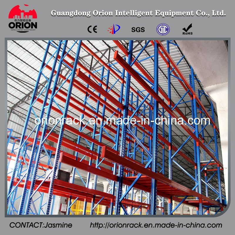 Industial Warehouse Drive in Wire Shelving