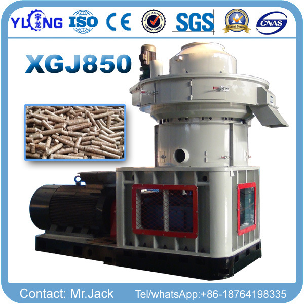 Vertical Ring Die Wood Pellet Machine for Fuel