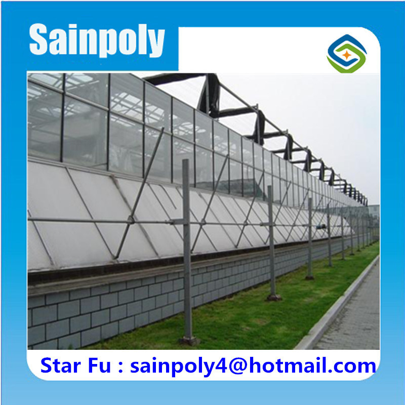 Roof & Side Ventilation System for Greenhouse