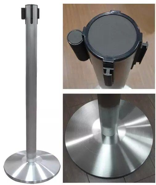 Stainless Steel Retractable Belt Queue Stand (DS21)
