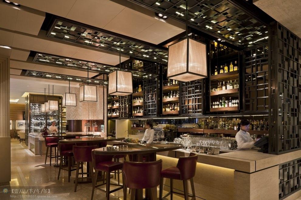 China restaurant furniture sets bar area furniture bar stool and bar table bar chair 0005 - Bar area design ...