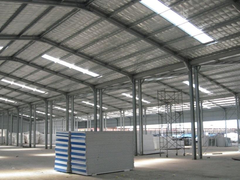 Light Steel Structure for Carport/Warehouse/Workshop