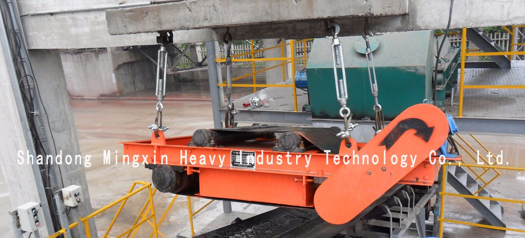 Rcyd (C) -Super Self Discharging Permanent Magnetic Separator of Mining Machine