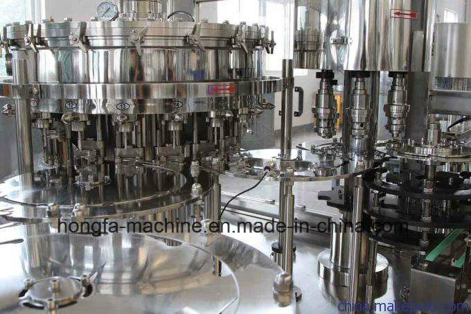 32-32-8 Full-Automatic Carbonated Drinks Filling Machine