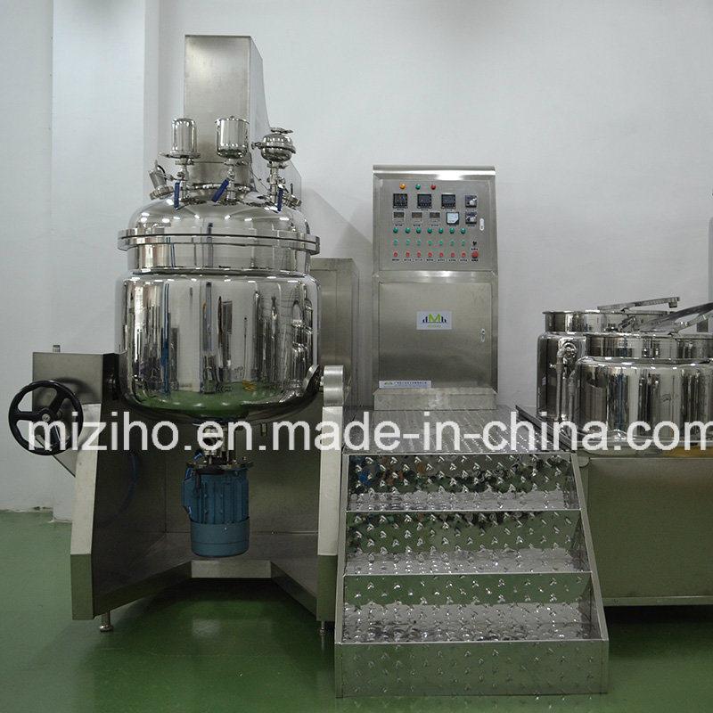 Hydraulic Type Vacuum Emulsifying Mixer Machine
