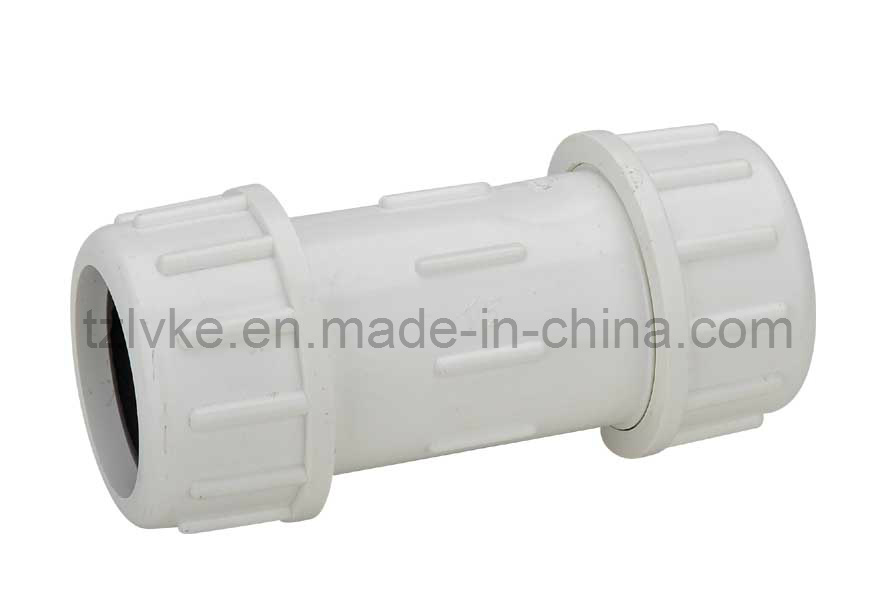 Plastic Quick Connector/Quick Coupling/Pipe Compression/Quick Connector/Coupling/Adapter/Reducer/Flexible Coupling/Quick Coupler (ANSI, DIN Standard-GT216)