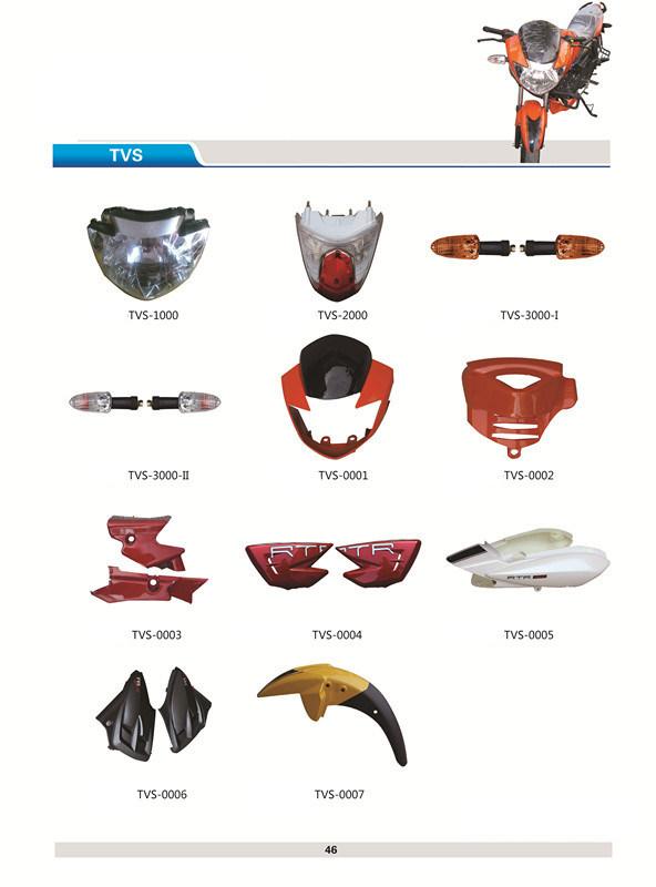 India Bajaj Hero Tvs Motorcycle Spare Parts (TVS150)